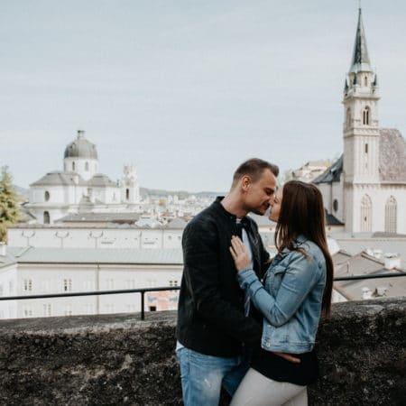 Paarshooting – Katrin & Philipp – Mönchsberg